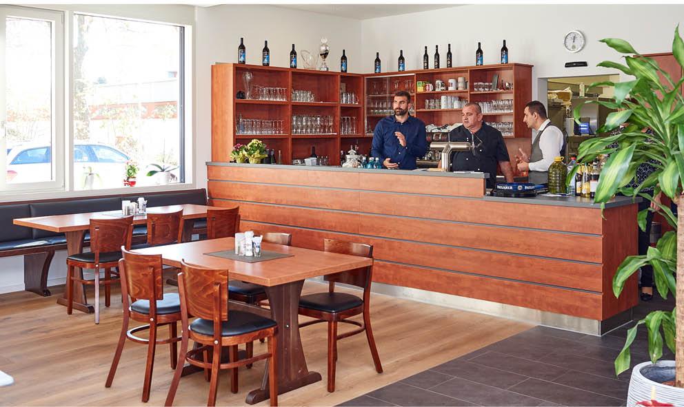 Stammtischbereich in der Gaststätte Talaue in Birkmannsweiler